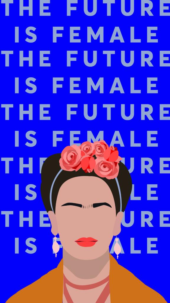 Fond d'écran mobile Frida Kahlo
