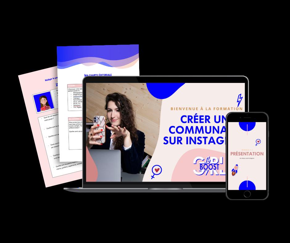 Formation Girlboost - Comment créer une communauté engagée sur instagram 2