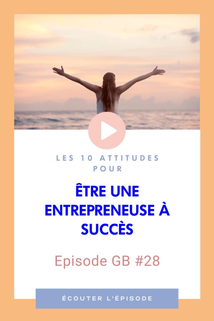Être une entrepreneuse à succès