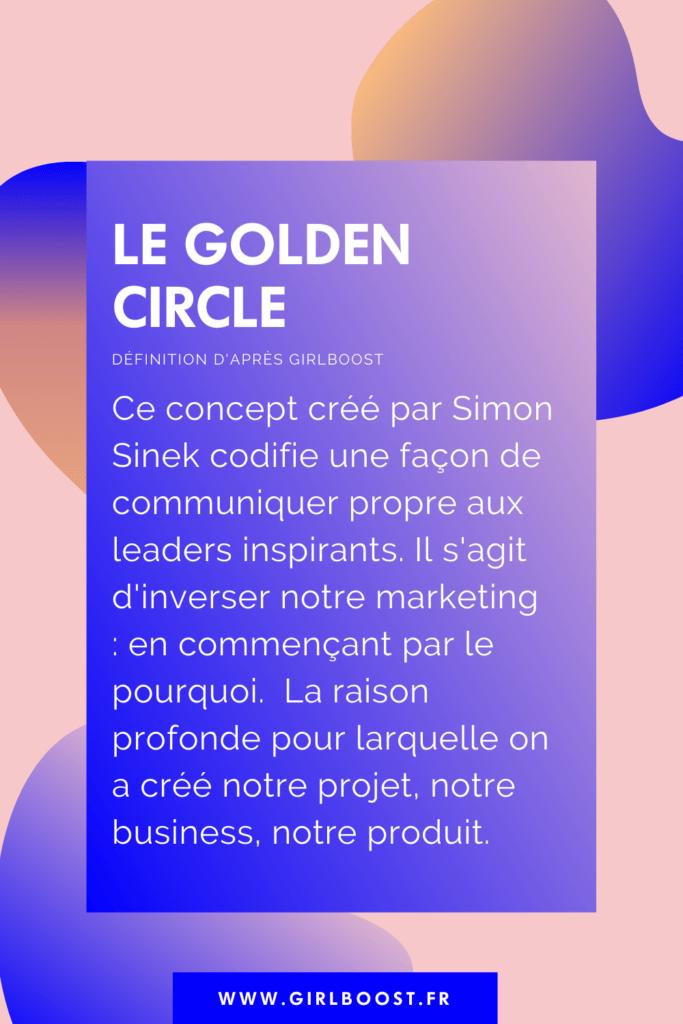 Définition du Golden Circle