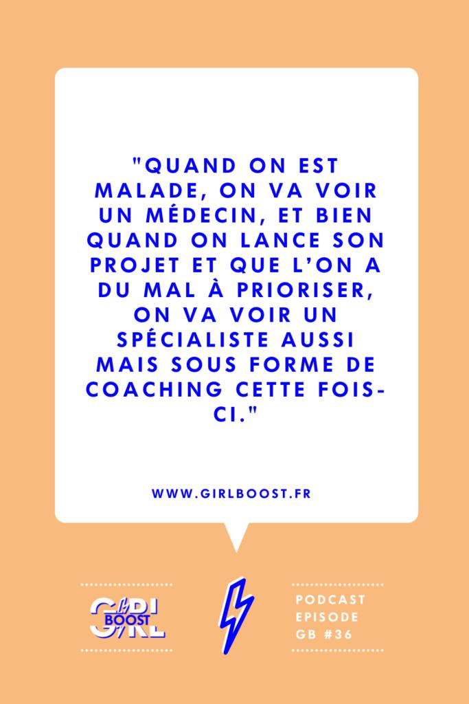Le coach est le médecin de l'entrepreneuriat